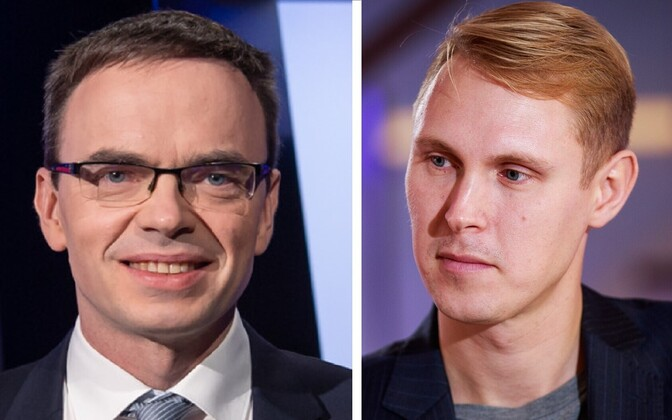 Sven Mikser and Raimond Kaljulaid