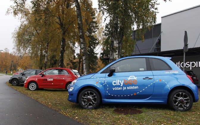 Citybee cars are not available for hire in Tallinn yet, due to ongoing issues with the city government.