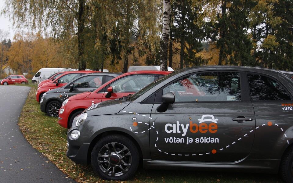 Новые автомобили для каршеринга Citybee.