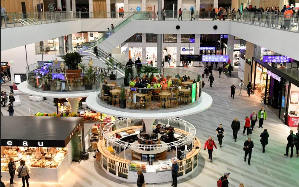 Торговый центр Tripla в Хельсинки.