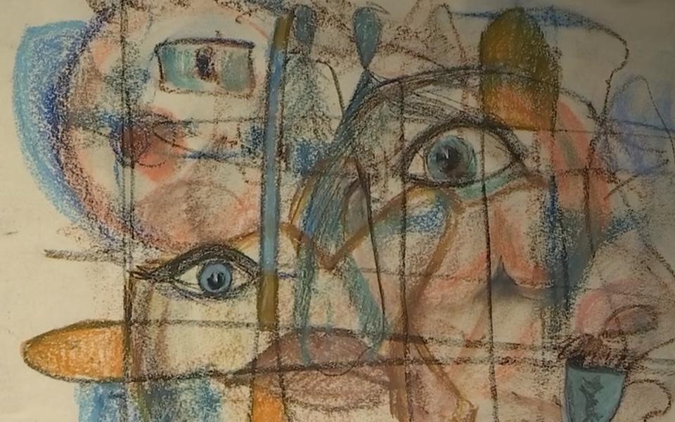 Georg Ots oli ka üsna andekas kunstnik.
