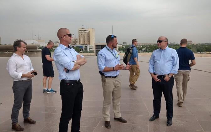 Jüri Luik ja Martin Herem Bagdadis