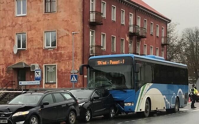 ДТП в Йыхви.
