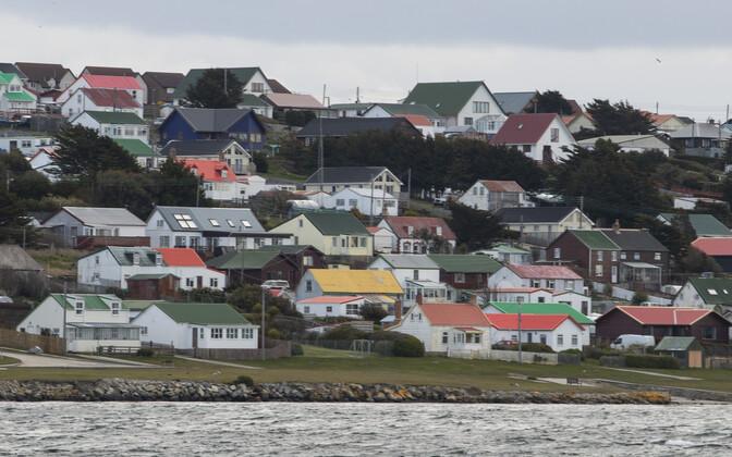 Falklandi saarte pealinn Stanley.