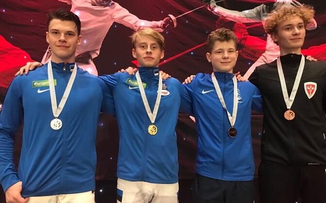 Janar Kiiroja, Ilian Bobrov, Erik Tobias, August Lindström Jensen