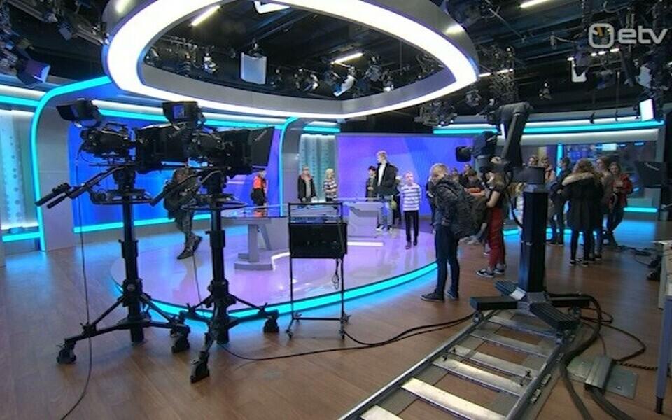 TV 10 Olümpiastarti osalejad AK stuudios