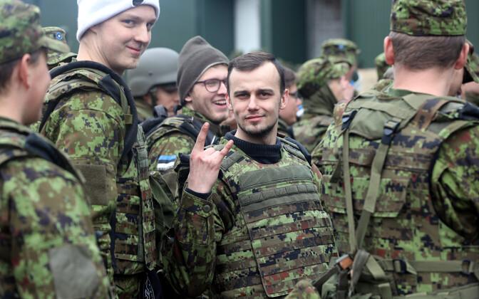 Estonian Defence Forces at Okas 2019.