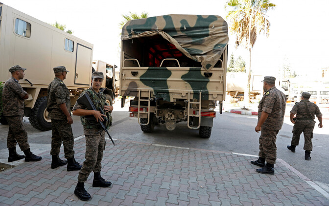 Tuneesia sõdurid, arhiivifoto.