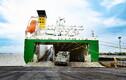 Британская техника прибыла в порт Эмден.