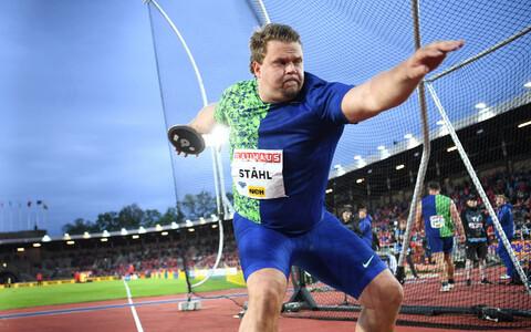 Kettaheite maailmameister Daniel Stahl (Rootsi) Stockholmi Teemantliiga etapil