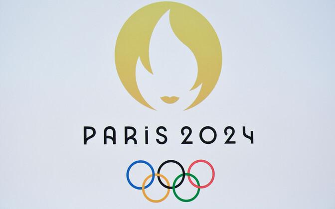Логотип Олимпийских игр 2024 года в Париже.