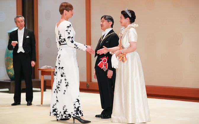 Президент Керсти Кальюлайд в Японии.