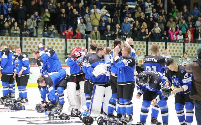 Eesti jäähokikoondis MM-turniiril