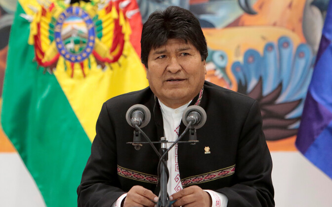 Boliivia president Evo Morales.