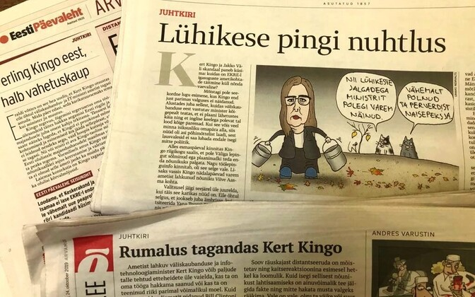Estonian dailies editorials Thursday morning.