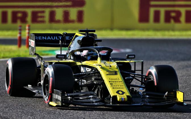 Daniel Ricciardo Jaapani GP-etapil.