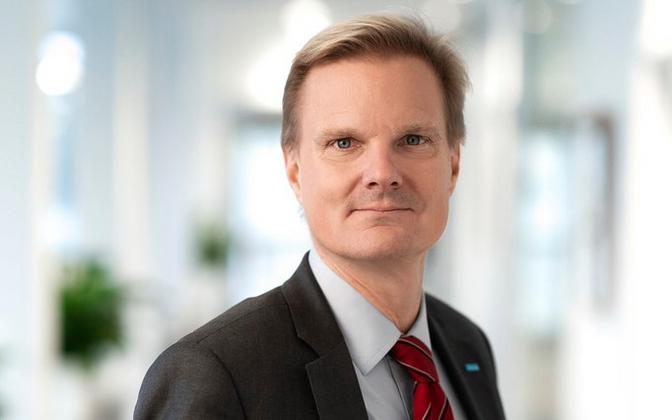 Swedbanki tegevjuht Jens Henriksson.
