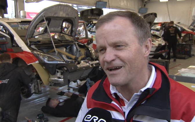 Toyota Gazoo Racing team boss and former WRC champion Tommi Mäkinen.