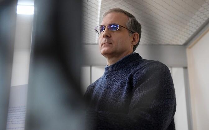 Paul Whelan Moskvas kohtus.