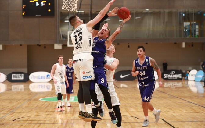 Korvpalli Eesti-Läti liiga: Tallinna Kalev/TLÜ - Tartu Ülikool