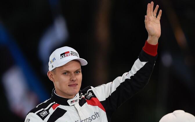 Ott Tänak, 2019 WRC drivers' champion.