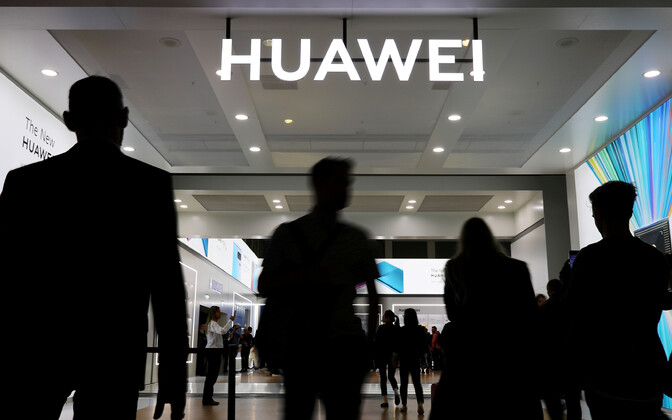 Huawei logo Berliini tehnoloogiamessil