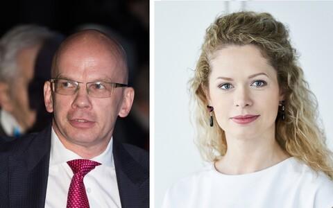 Allar Jõks ja Lise-Lotte Lääne