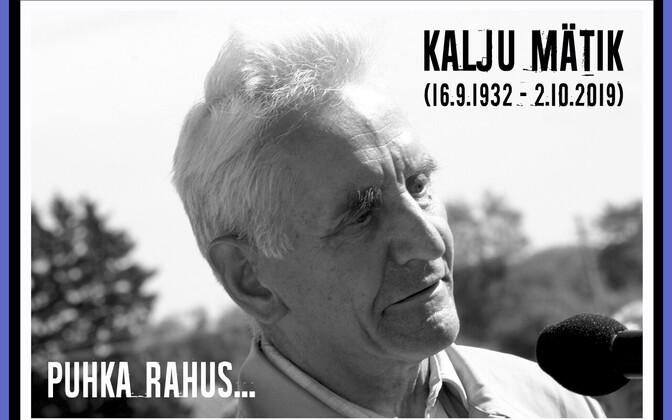 Kalju Mätik (1932-2019)