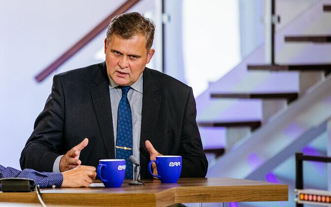 Minister of Justice Raivo Aeg (Isamaa).