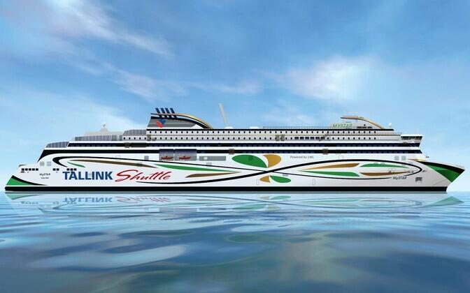 Tallinki uue süstiklaeva nimeks saab MySTAR.