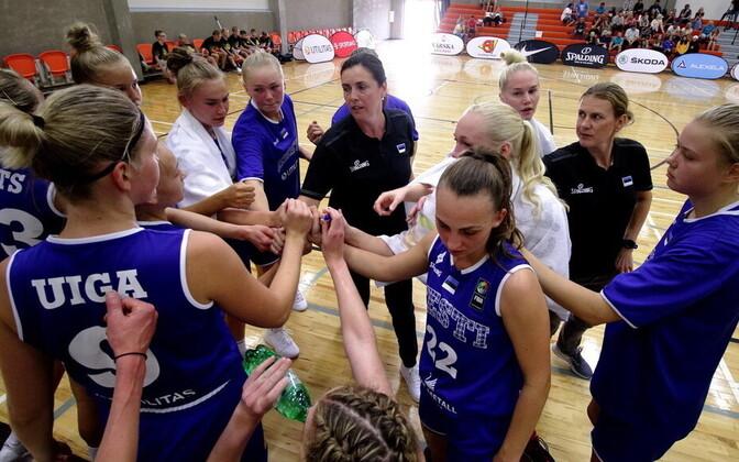 Eesti naiste korvpallikoondis suvises sõprusmängus Iirimaa vastu