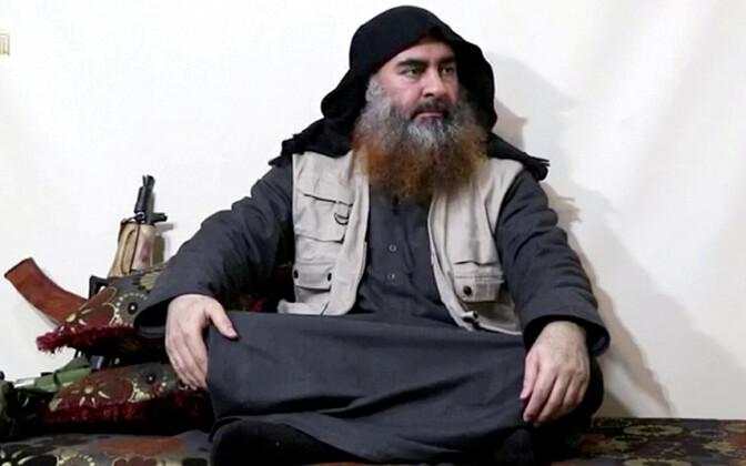 ISIS-e juht Abu Bakr al-Baghdadi 2019. aasta kevadel avaldatud propagandavideos.