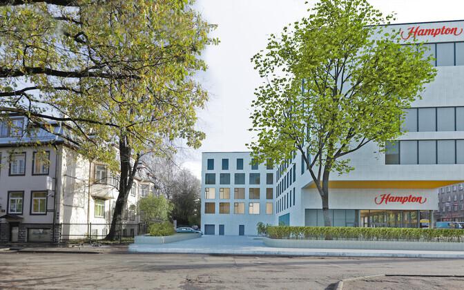Новый отель построят на месте нынешнего торгового центра.