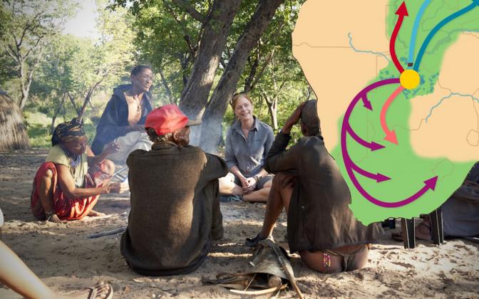 Uuringu põhjal elas kõigi tänapäeval elavate inimeste ühine esiema tänapäeva Botswana põhjaosas.