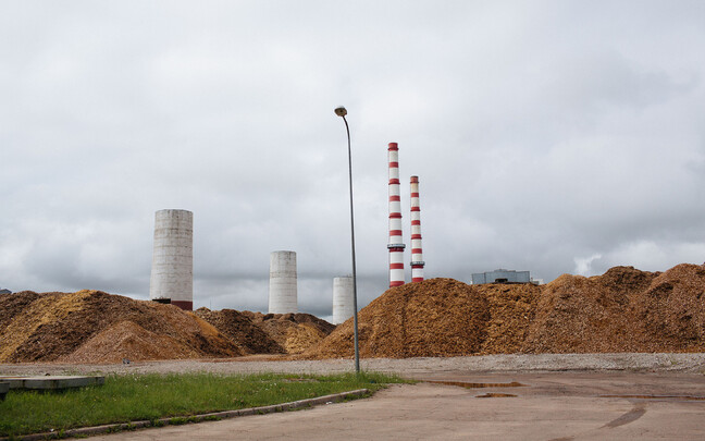 Нарвские электростанции.