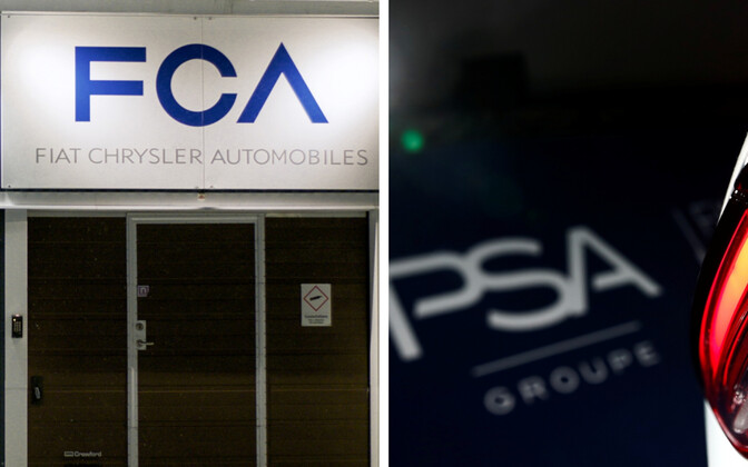 Fiat Chrysler Automobiles ja Groupe PSA .