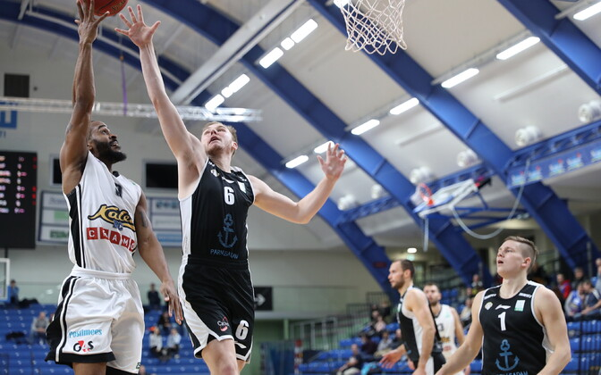 Eesti-Läti korvpalliliiga: BC Kalev/Cramo - Pärnu Sadam
