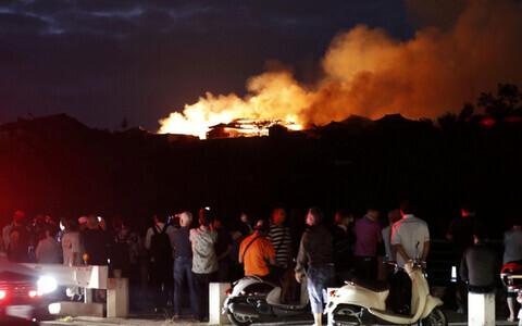 Jaapanis põles maha UNESCO nimistusse kantud Shuri loss.