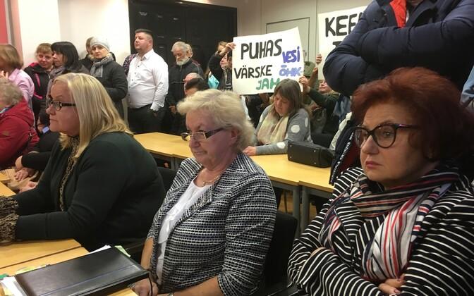 Kohtla-Järve volikogus arutati Ahtme õlitehast.