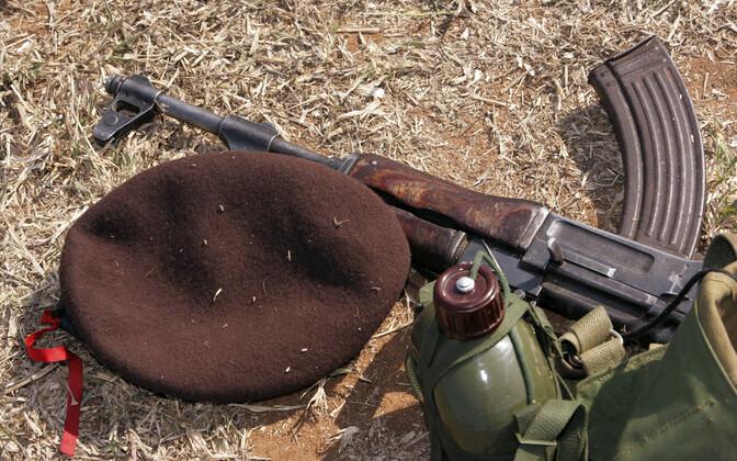 Mosambiigi sõduri varustus, arhiivifoto.