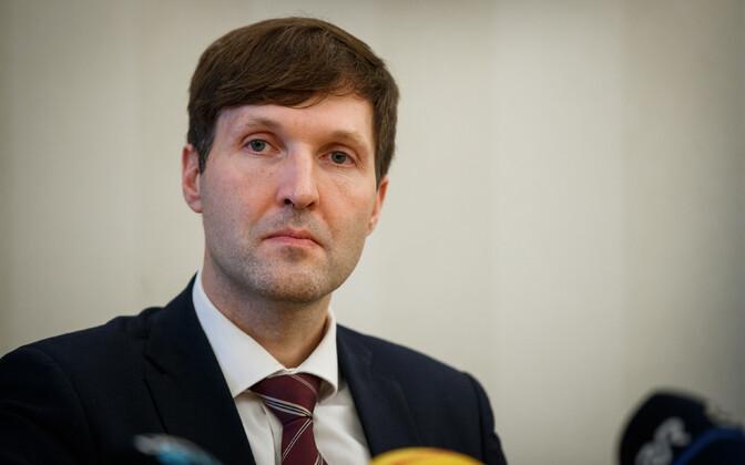 Finance minister Martin Helme (EKRE)