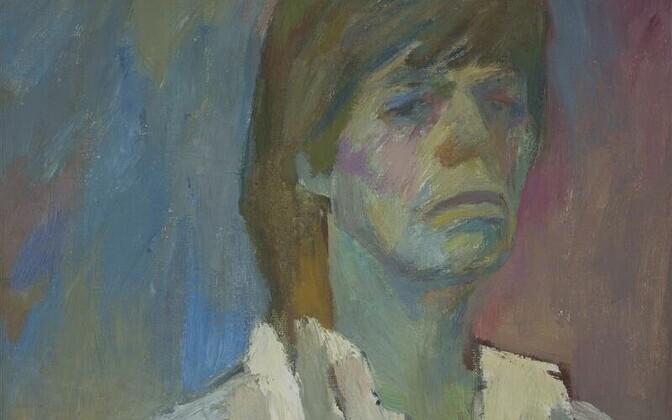 Helle Vahersalu. Isekas nägu. Õli, lõuend, 1985. Autori omand
