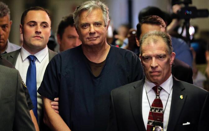 Donald Trumpi endine kampaaniajuht Paul Manafort läesoleva aasta juunis kohtus.