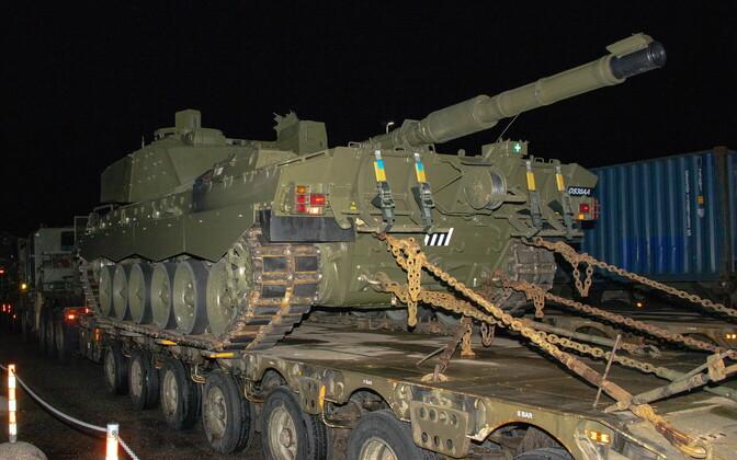 Harjutus Tractable on proovikiviks Eesti sõjaväelogistikutele.