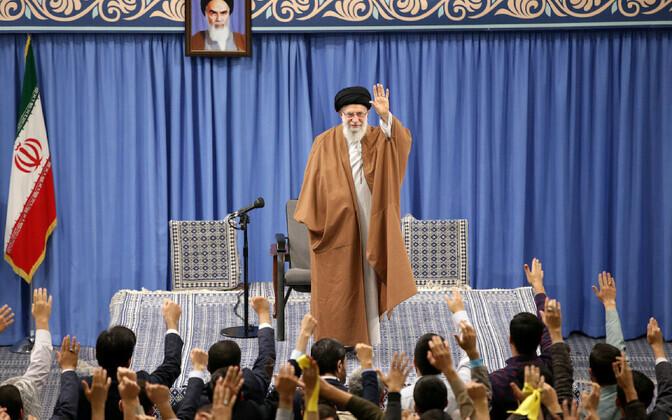 Iraani kõrgeim juht Ali Khamenei.
