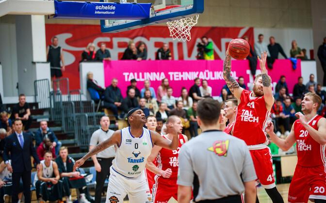 Eesti-Läti korvpalliliiga: TalTech - Rakvere Tarvas