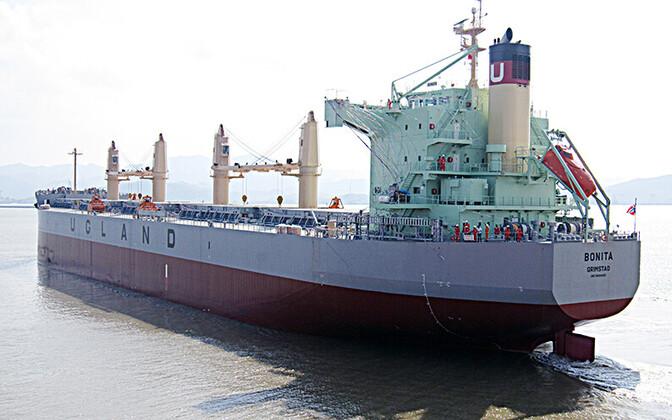 Норвежское судно MV Bonita.