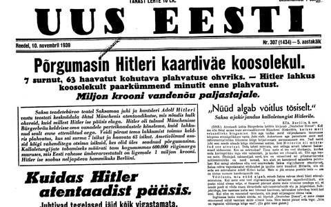Uus Eesti 10.11.1939
