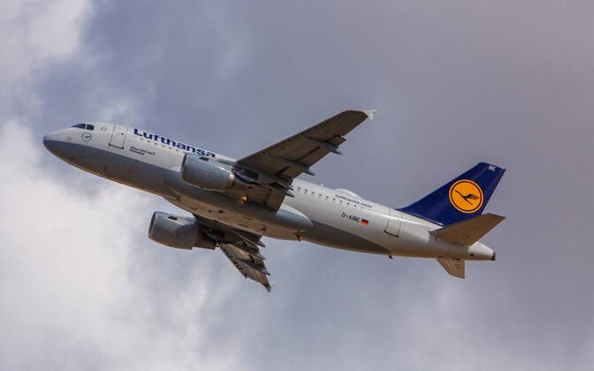 Lufthansa lennuk Airbus 319