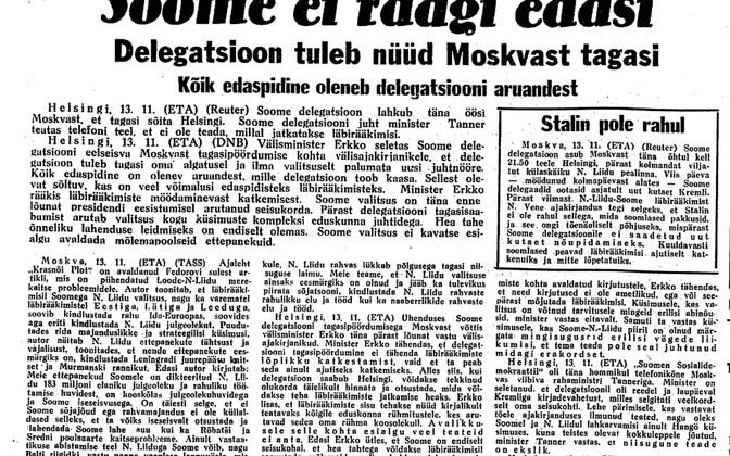 Päevaleht 14.11.1939